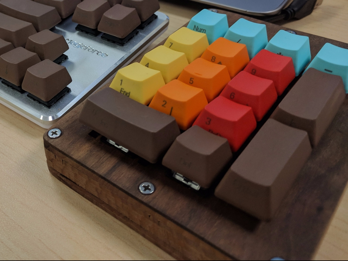 Mechanical Numpad Project
